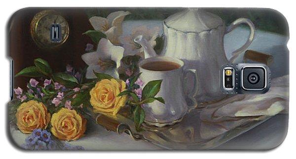 Tea In The Garden Galaxy S5 Case