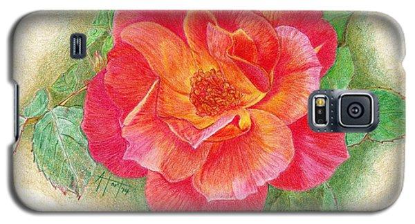 Tea Rose Galaxy S5 Case