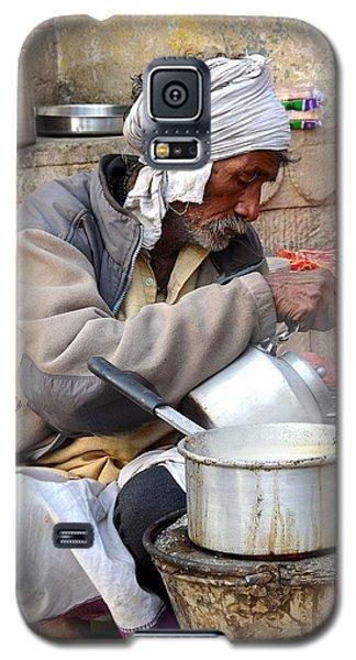 Tea Stall On The Ghats  - Varanasi India Galaxy S5 Case
