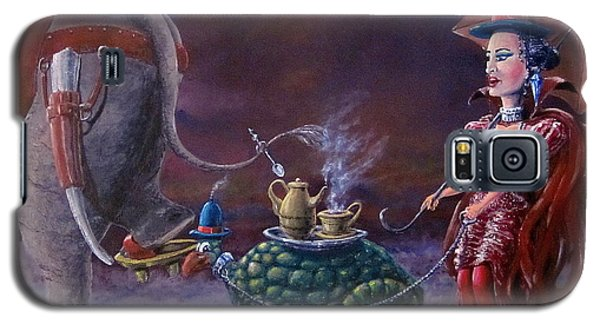 Tea Time Galaxy S5 Case by Geni Gorani