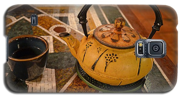 Galaxy S5 Case featuring the photograph Tea Time In Asia by Robert Meanor