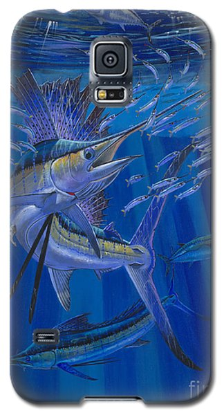 Team Work Off0036 Galaxy S5 Case by Carey Chen