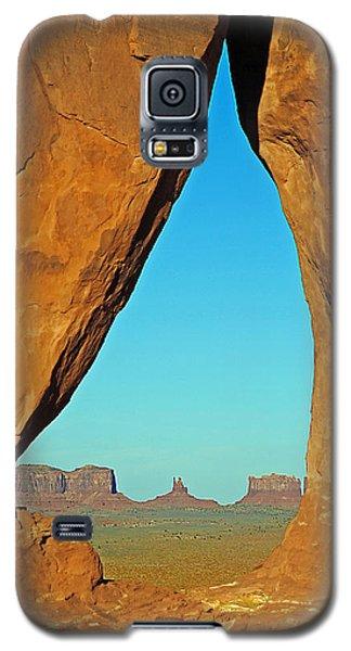 Tear Drop Arch Monument Valley Galaxy S5 Case by Jeff Brunton