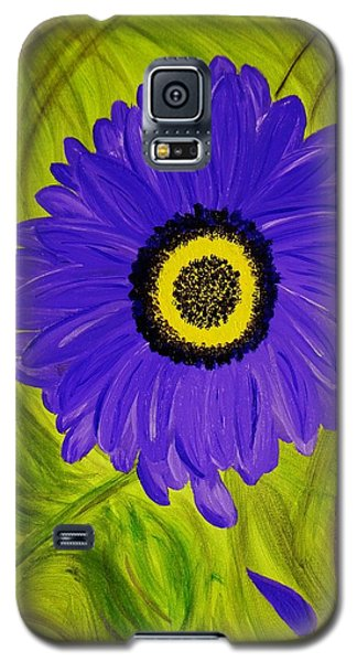 Galaxy S5 Case featuring the painting Tear Drop by Celeste Manning