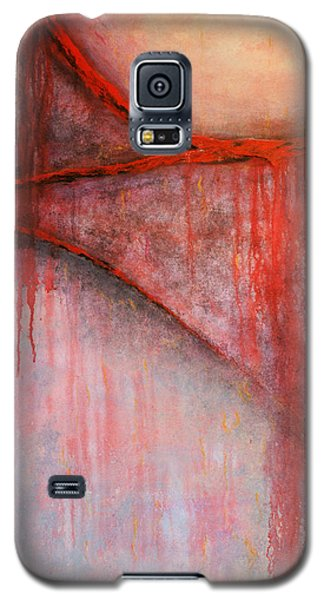 Galaxy S5 Case featuring the painting Tears Of War by Michelle Joseph-Long