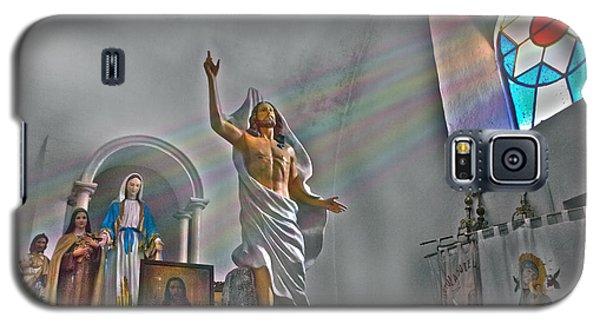 Tecomatlan Church Sanctuary Galaxy S5 Case