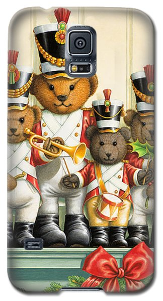 Teddy Bear Band Galaxy S5 Case