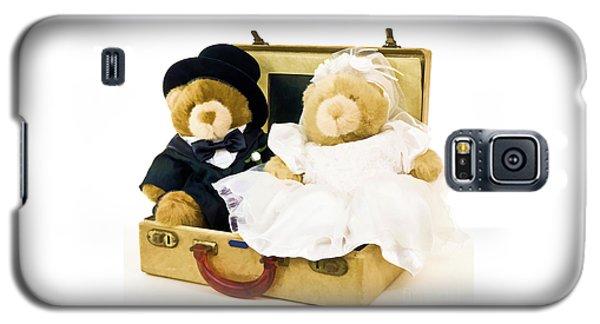 Teddy Bear Honeymoon Galaxy S5 Case by Edward Fielding