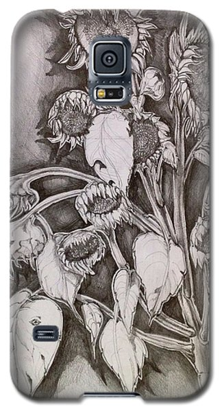 Galaxy S5 Case featuring the drawing Teddy Bears by Iya Carson