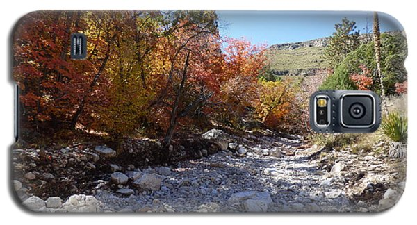 Tejas Trail In Fall Galaxy S5 Case by Joel Deutsch