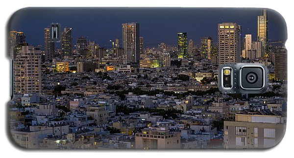 Tel Aviv At The Twilight Magic Hour Galaxy S5 Case