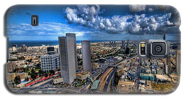 Tel Aviv Center Skyline Galaxy S5 Case