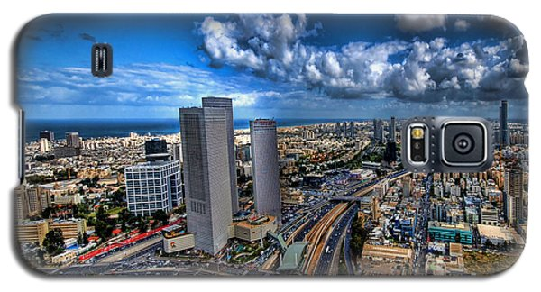 Tel Aviv Center Skyline Galaxy S5 Case