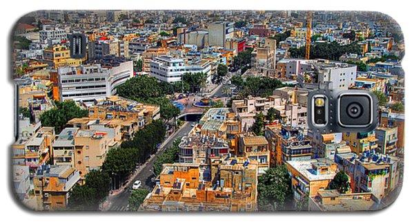 Tel Aviv Eagle Eye View Galaxy S5 Case