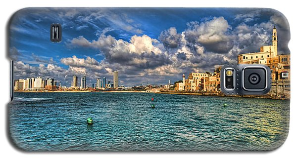 Tel Aviv Jaffa Shoreline Galaxy S5 Case by Ron Shoshani
