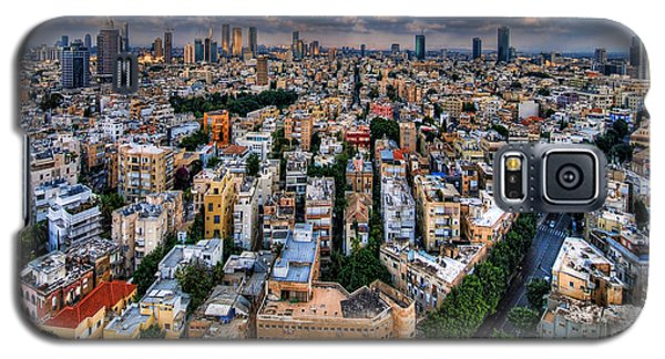 Tel Aviv Lookout Galaxy S5 Case by Ron Shoshani