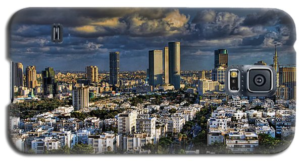 Tel Aviv Skyline Fascination Galaxy S5 Case