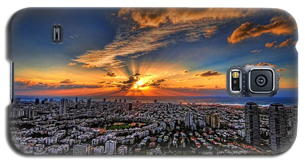 Tel Aviv Sunset Time Galaxy S5 Case