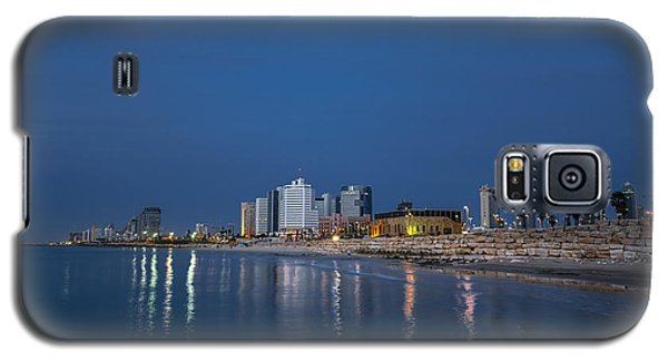 Tel Aviv The Blue Hour Galaxy S5 Case