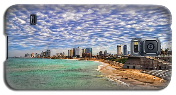 Tel Aviv Turquoise Sea At Springtime Galaxy S5 Case