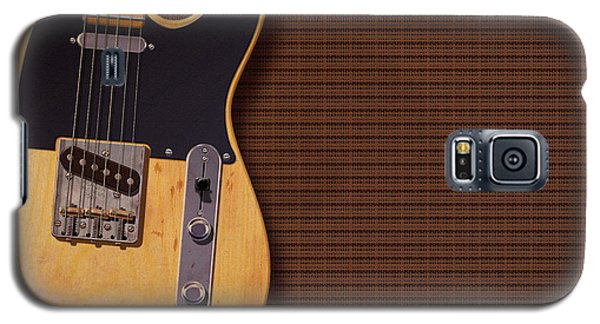 Telecaster Deluxe Galaxy S5 Case by WB Johnston