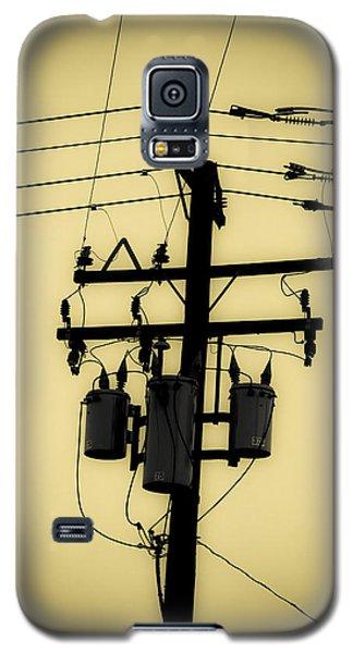 Telephone Pole 3 Galaxy S5 Case