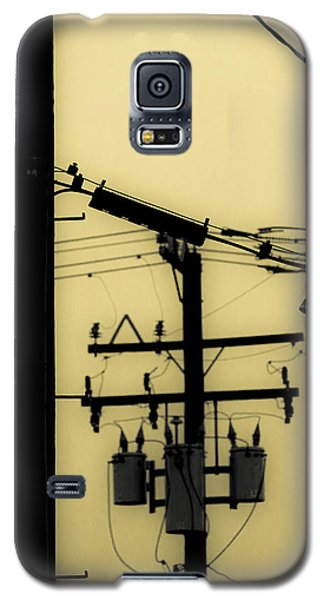 Telephone Pole And Sneakers 5 Galaxy S5 Case