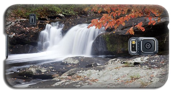 Galaxy S5 Case featuring the photograph Telico River Waterfall by Robert Camp