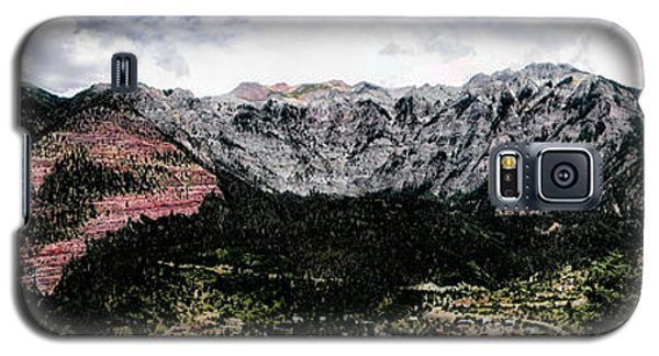 Telluride From The Air Galaxy S5 Case