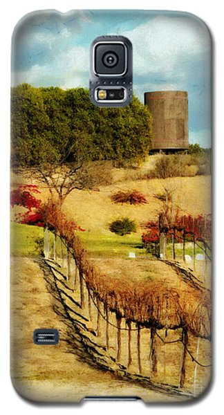 Galaxy S5 Case featuring the digital art Temecula Wine Country by Rhonda Strickland