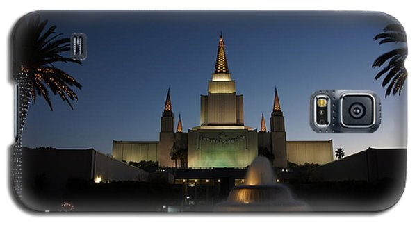 Temple At Night Galaxy S5 Case