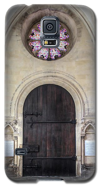 Temple Church Doorway Galaxy S5 Case