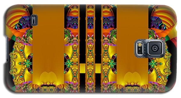 Temple Entrance Galaxy S5 Case by Jim Pavelle