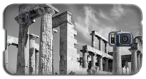 Temple Of Aphaea On Aegina In Greece Galaxy S5 Case