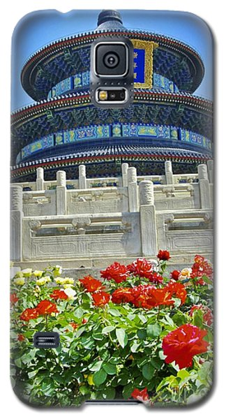 Galaxy S5 Case featuring the photograph Temple Of Heaven  by Sarah Mullin