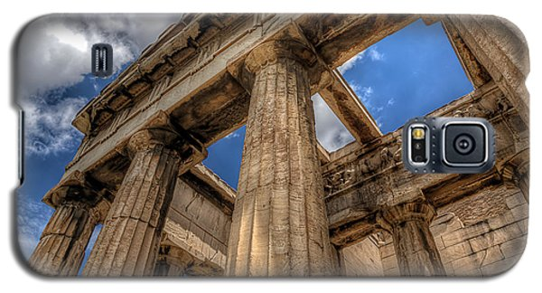 Galaxy S5 Case featuring the photograph Temple Of Hephaestus by Micah Goff