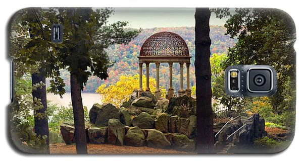 Temple Of Love In Autumn Galaxy S5 Case