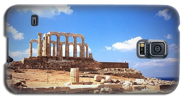 Temple Of Poseidon Vignette Galaxy S5 Case