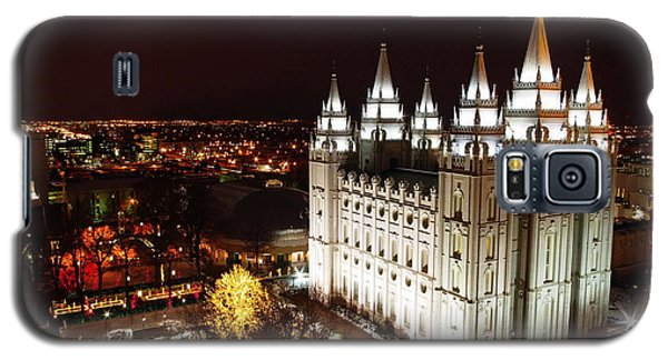 Temple Square Galaxy S5 Case by David Andersen
