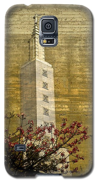 Temple With Red Galaxy S5 Case