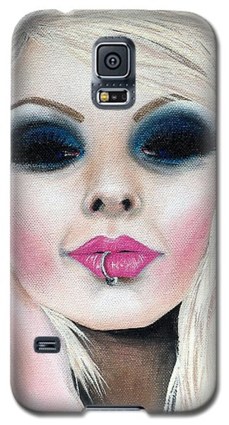 Temptation Galaxy S5 Case by Oddball Art Co by Lizzy Love
