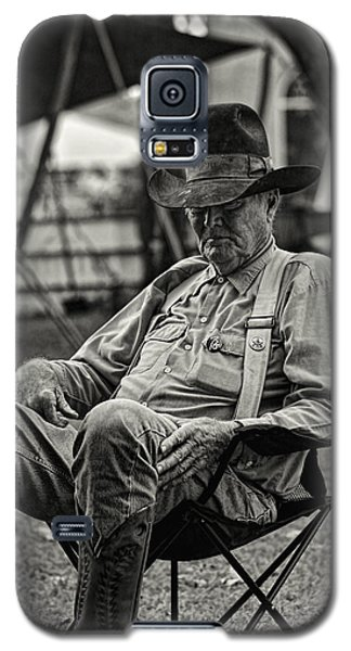 Cowboy And The Ten Gallon Hat Galaxy S5 Case