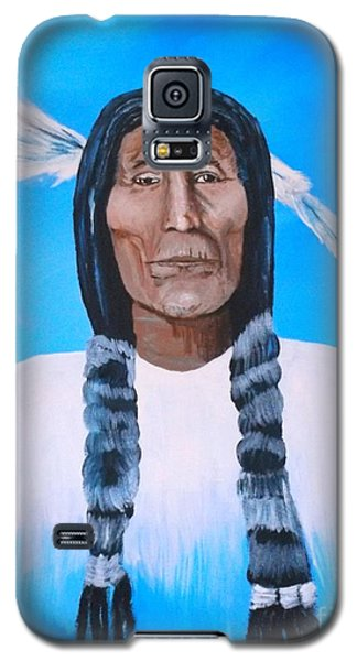 Chief Wolf Robe Galaxy S5 Case