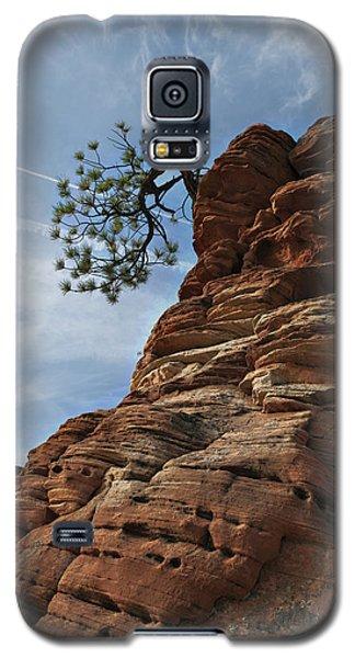 Galaxy S5 Case featuring the photograph Tenacity by Joe Schofield