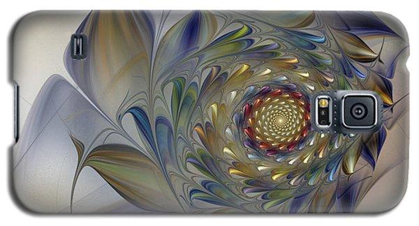 Tender Flowers Dream-fractal Art Galaxy S5 Case