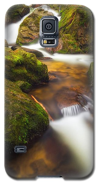 Galaxy S5 Case featuring the photograph Tendon's Waterfall by Maciej Markiewicz