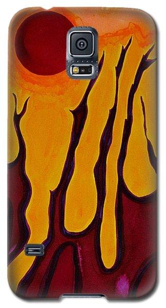 Tendrils Original Painting Galaxy S5 Case