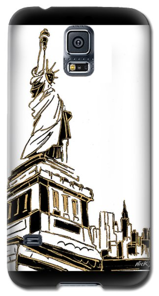 Tenement Liberty Galaxy S5 Case by Nicholas Biscardi
