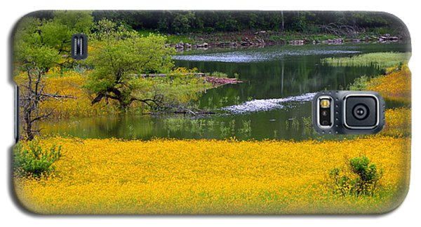 Tennessee Black-eyed Susan Field Galaxy S5 Case