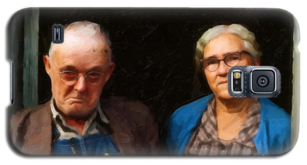 Galaxy S5 Case featuring the digital art Tennessee Gothic by Spyder Webb